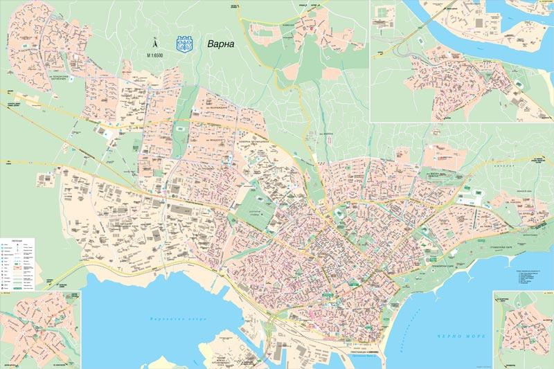 Karta Na Varna Stenna Knizharnici Hiron 2000 Uchebnici Uchebni